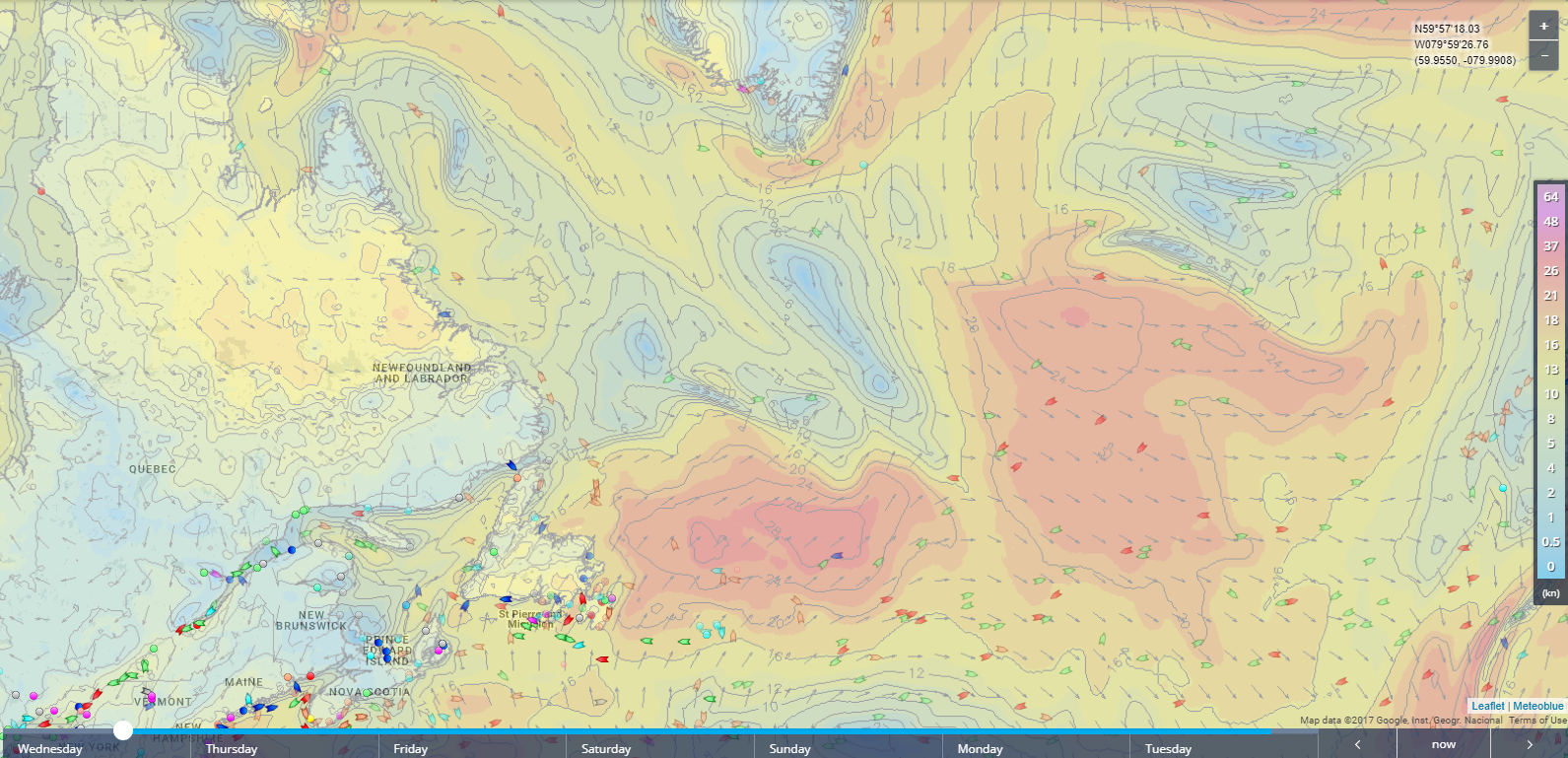 Use Weather Maps on the Live Map Toolbar – MarineTraffic Help on